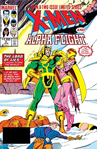 X-Men/Alpha Flight (1985) No.2 (sur 2)