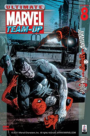 Ultimate Marvel Team-Up (2001-2002) #8