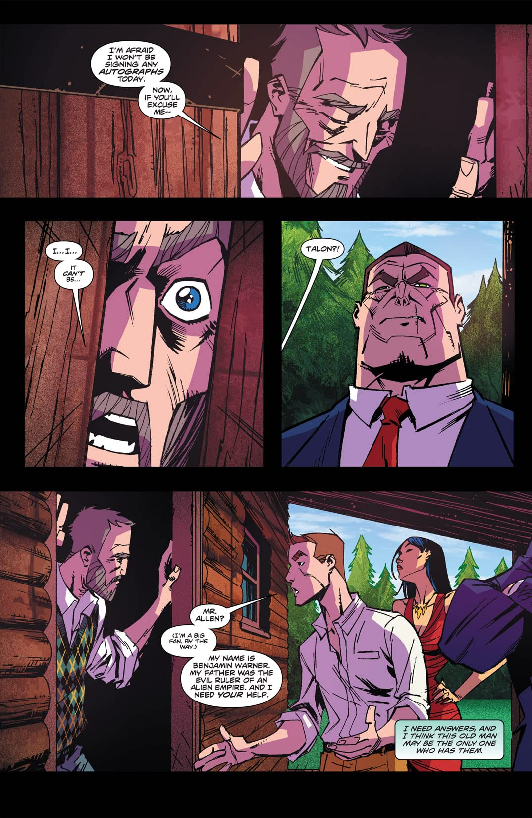 Stan Lee's Starborn #9