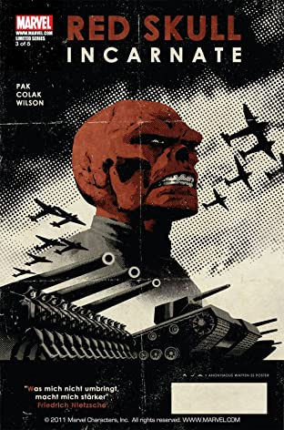 Red Skull No.3 (sur 5)