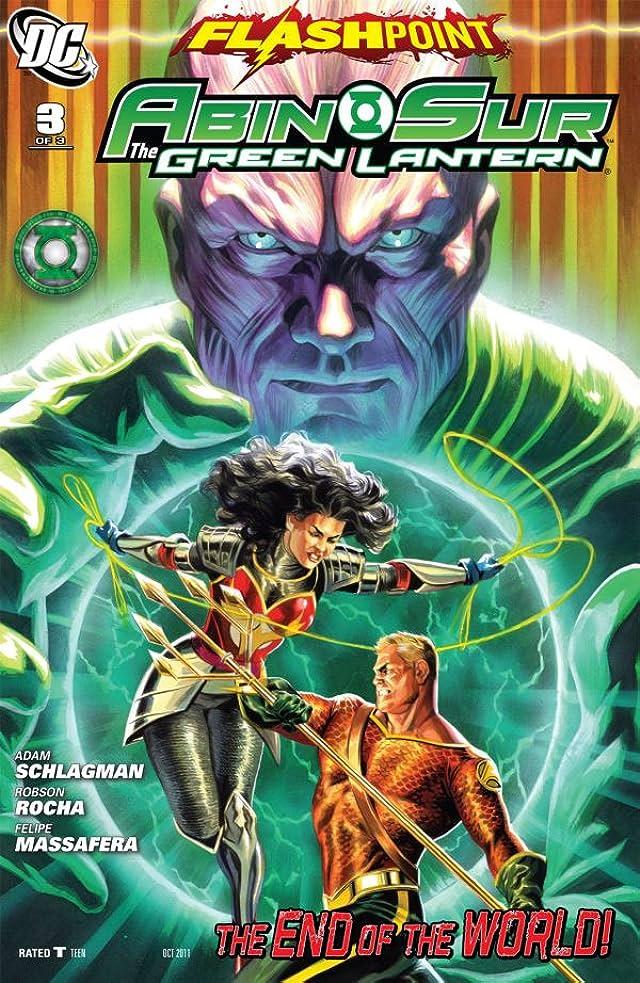 Flashpoint: Abin Sur - The Green Lantern #3