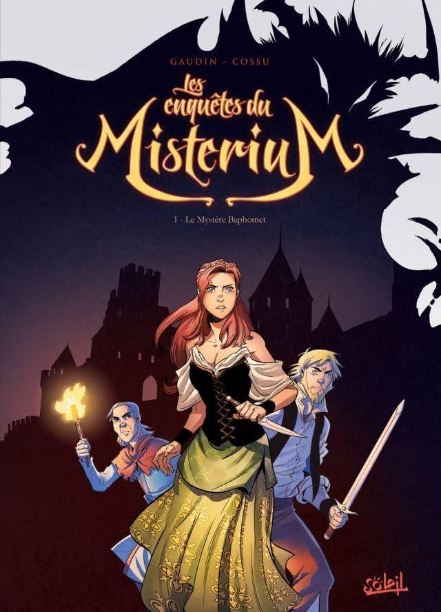 Les Enquêtes du misterium Vol. 1: Le Mystère Baphomet