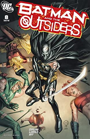 Batman and the Outsiders No.8