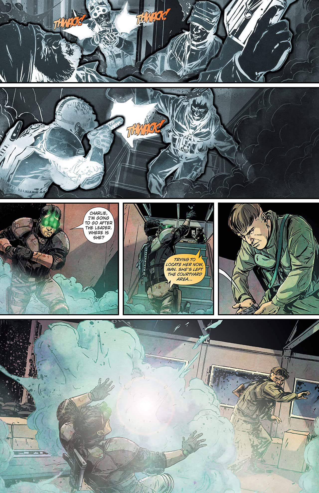 Tom Clancy's Splinter Cell: Echoes #4 (of 4): Digital Exclusive Edition