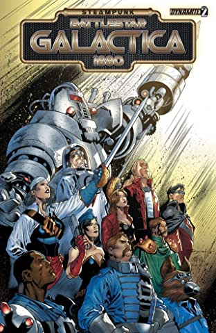 Steampunk Battlestar Galactica 1880 #2 (of 4): Digital Exclusive Edition