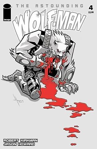 The Astounding Wolf-Man No.4