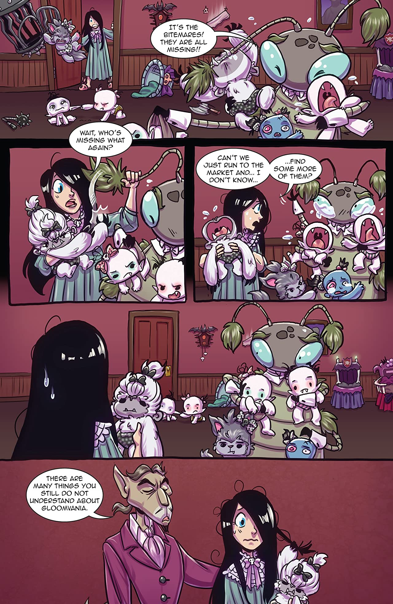 Vamplets: The Undead Pet Society #1