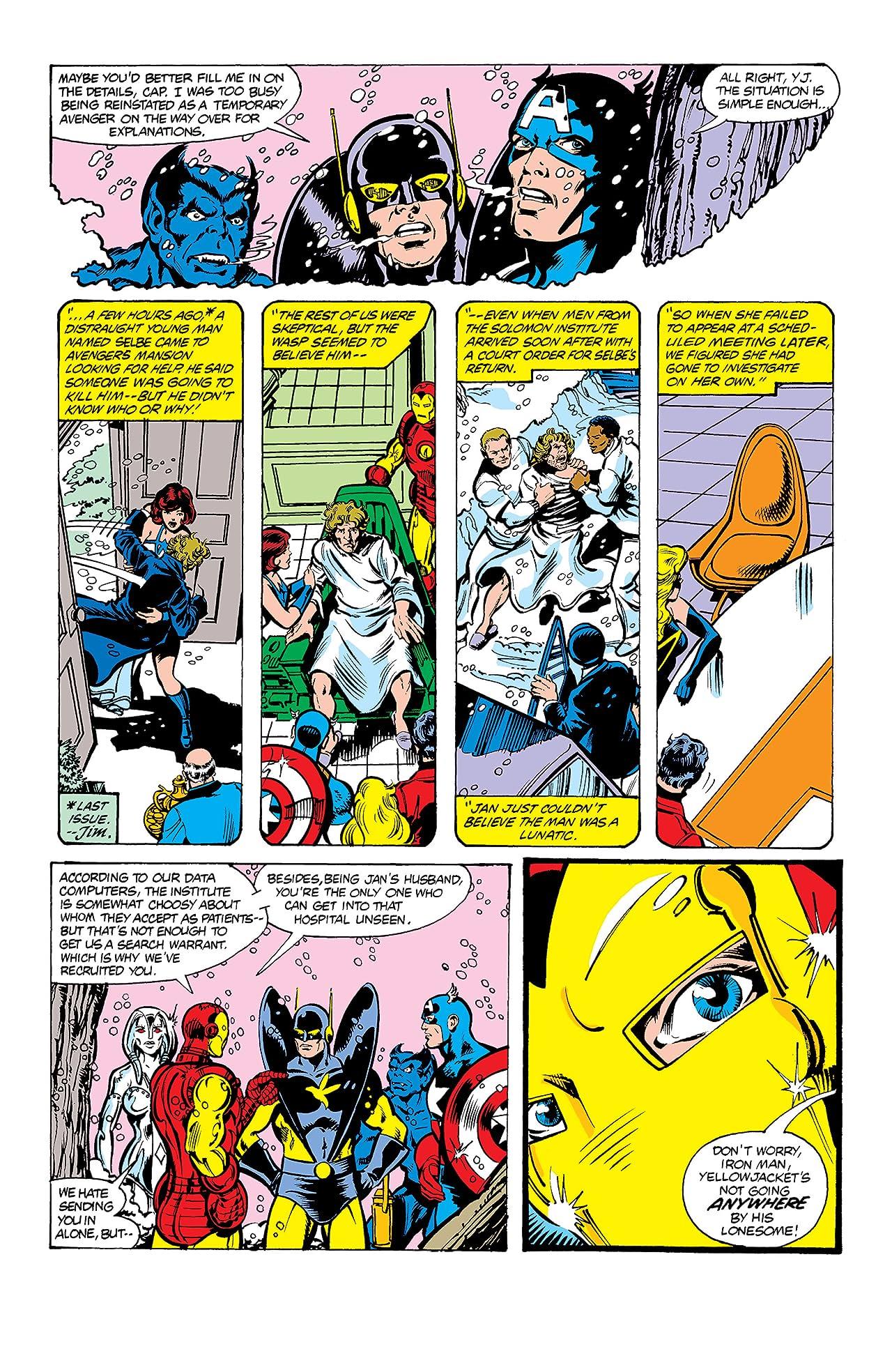 Avengers (1963-1996) #195