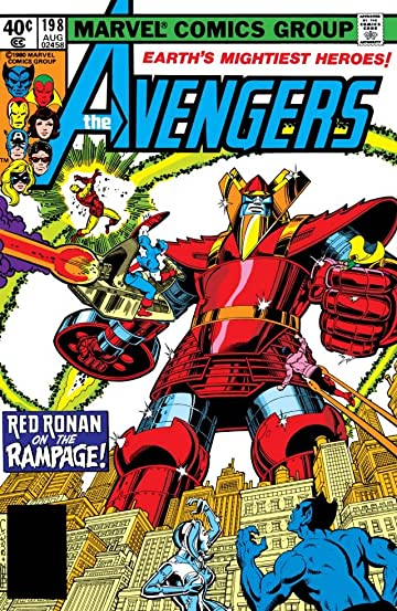 Avengers (1963-1996) #198
