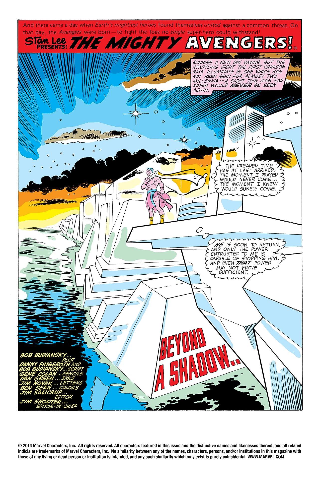 Avengers (1963-1996) #207