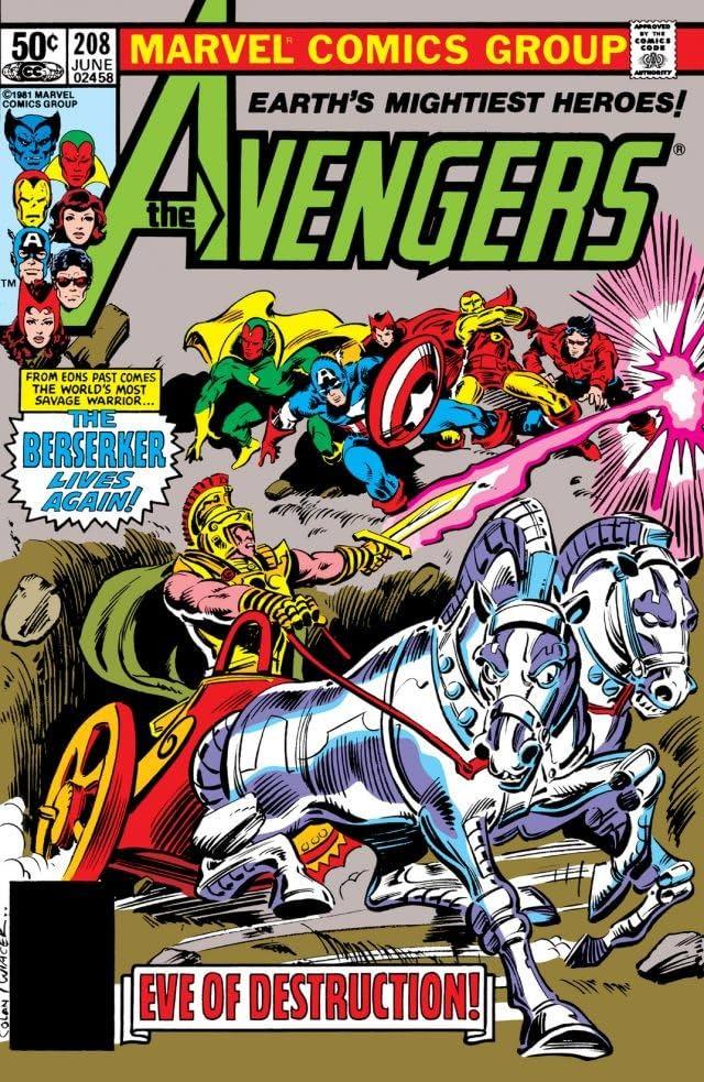 Avengers (1963-1996) #208