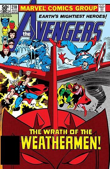 Avengers (1963-1996) #210