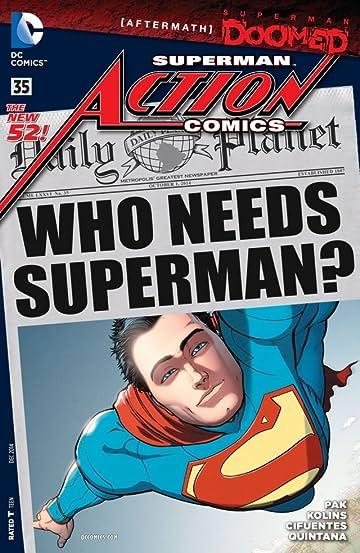 Action Comics (2011-2016) #35