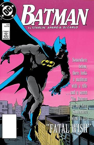 Batman (1940-2011) #430
