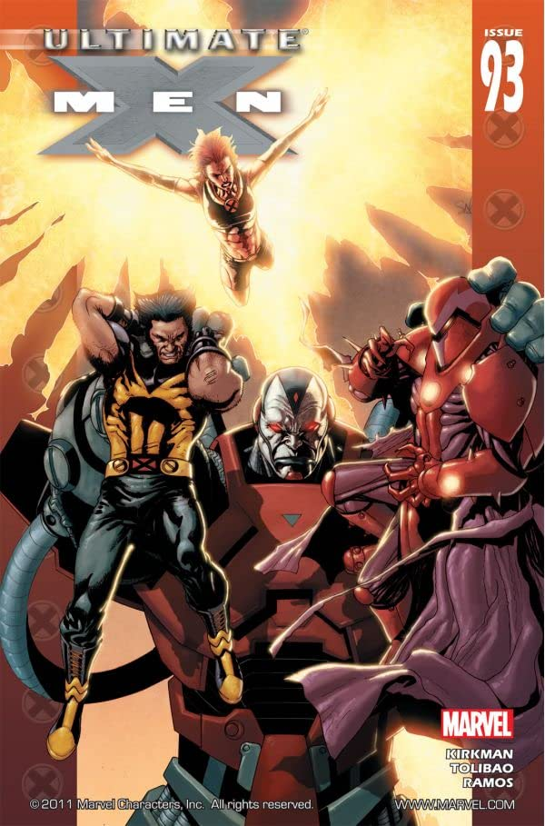 Ultimate X-Men #93