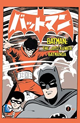 Batman: The Jiro Kuwata Batmanga #14