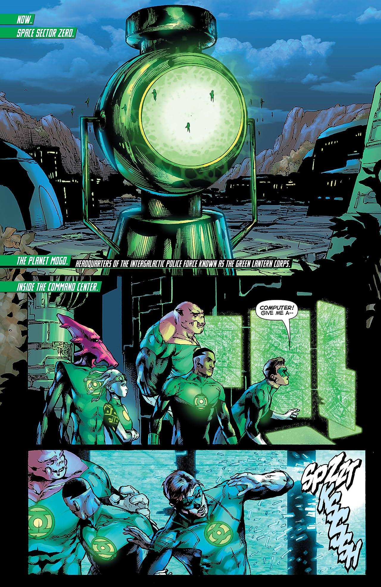 Green Lantern (2011-2016) #35