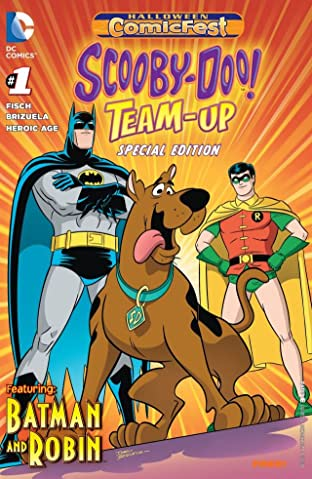 Halloween Comic Fest 2014 - Scooby-Doo Team Up #1: Featuring Batman
