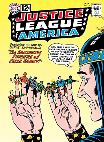 Justice League of America (1960-1987) #10