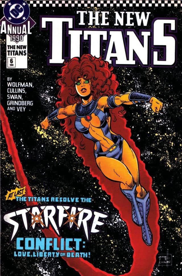 The New Titans (1984-1996): Annual #6