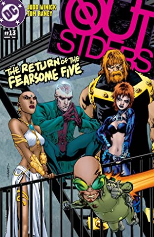 Outsiders (2003-2007) #13