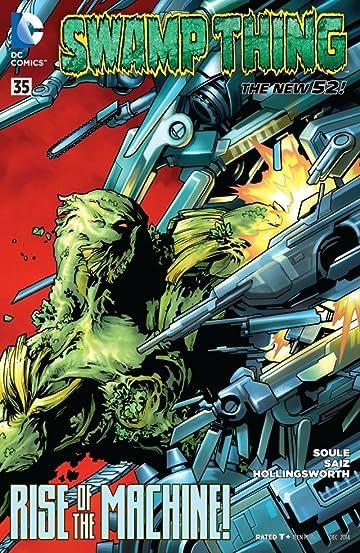 Swamp Thing (2011-2015) #35