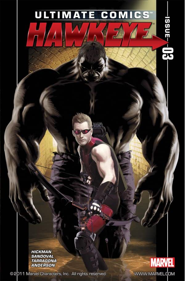 Ultimate Comics Hawkeye #3