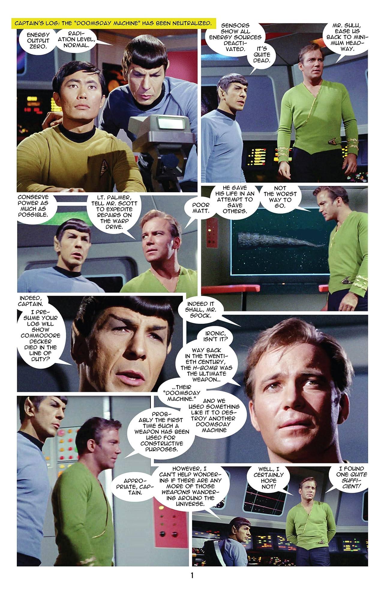 Star Trek: New Visions #3: Cry Vengeance