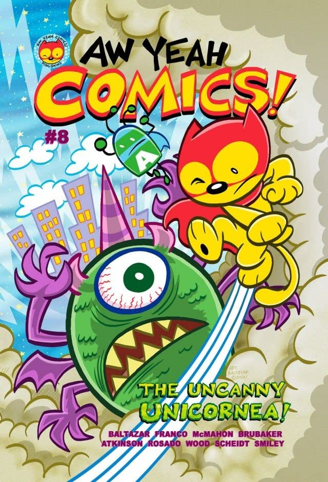 Aw Yeah Comics! #8