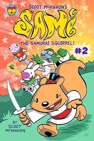 Sami the Samurai Squirrel #2