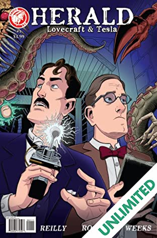 Herald: Lovecraft & Tesla #1