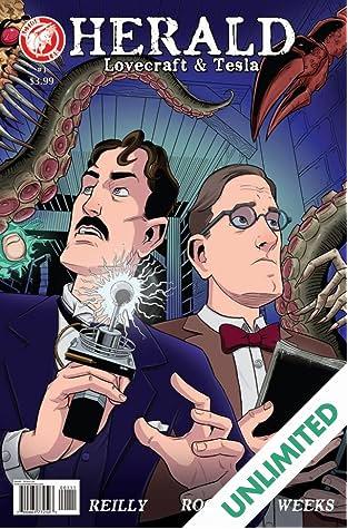 Herald: Lovecraft & Tesla #1