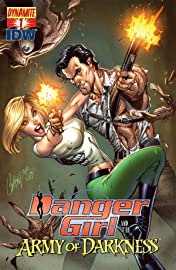 Danger Girl and the Army of Darkness #1