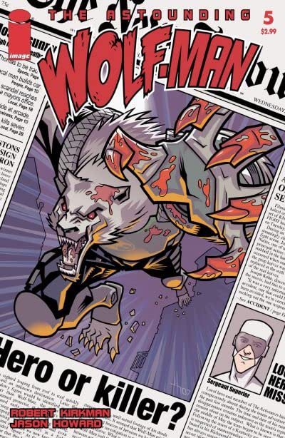 The Astounding Wolf-Man #5