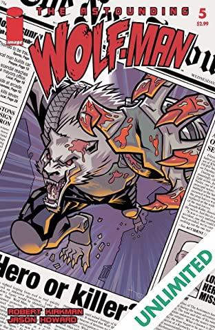 The Astounding Wolf-Man #5