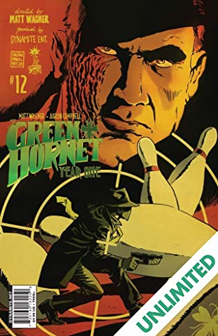 Green Hornet: Year One #12