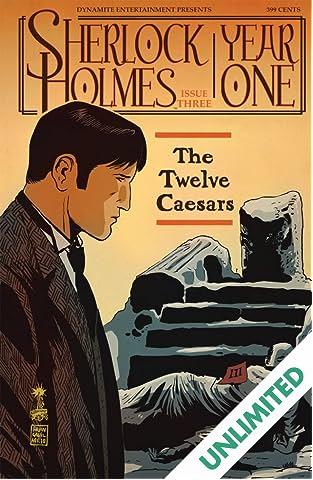 Sherlock Holmes: Year One #3