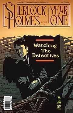 Sherlock Holmes: Year One #5