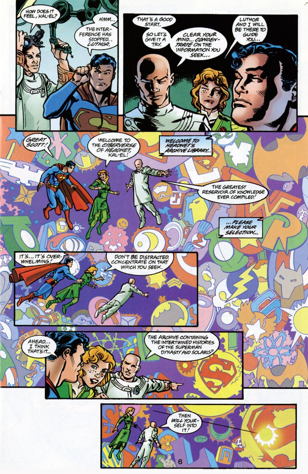Superman: The Man of Tomorrow (1995-1999) #1000000