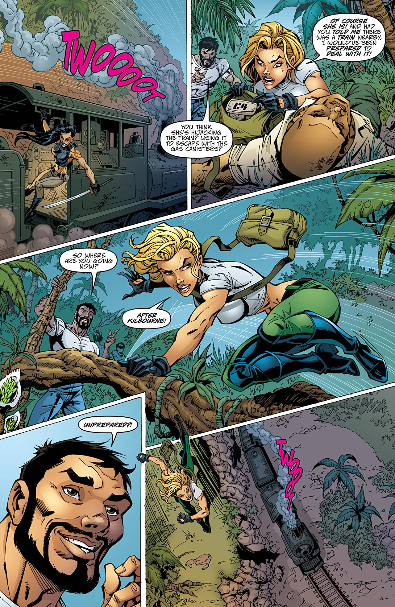 Danger Girl: May Day #4 (of 4)