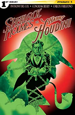 Sherlock Holmes vs. Harry Houdini #1 (of 5): Digital Exclusive Edition