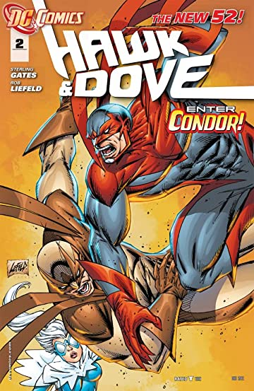 Hawk and Dove (2011-2012) #2