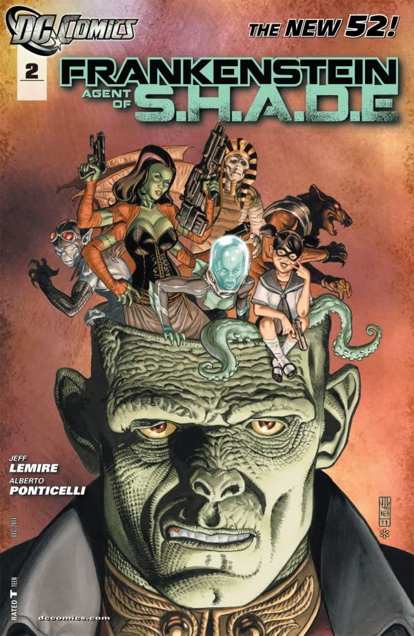 Frankenstein, Agent of SHADE (2011-2013) #2