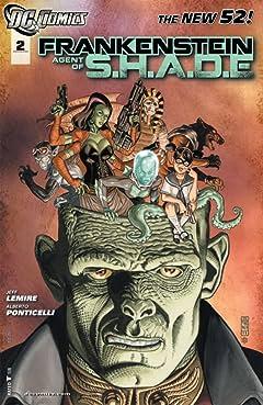 Frankenstein, Agent of SHADE (2011-2013) #2