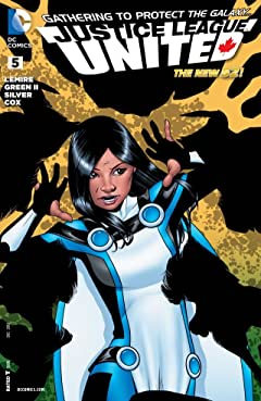 Justice League United (2014-2015) #5
