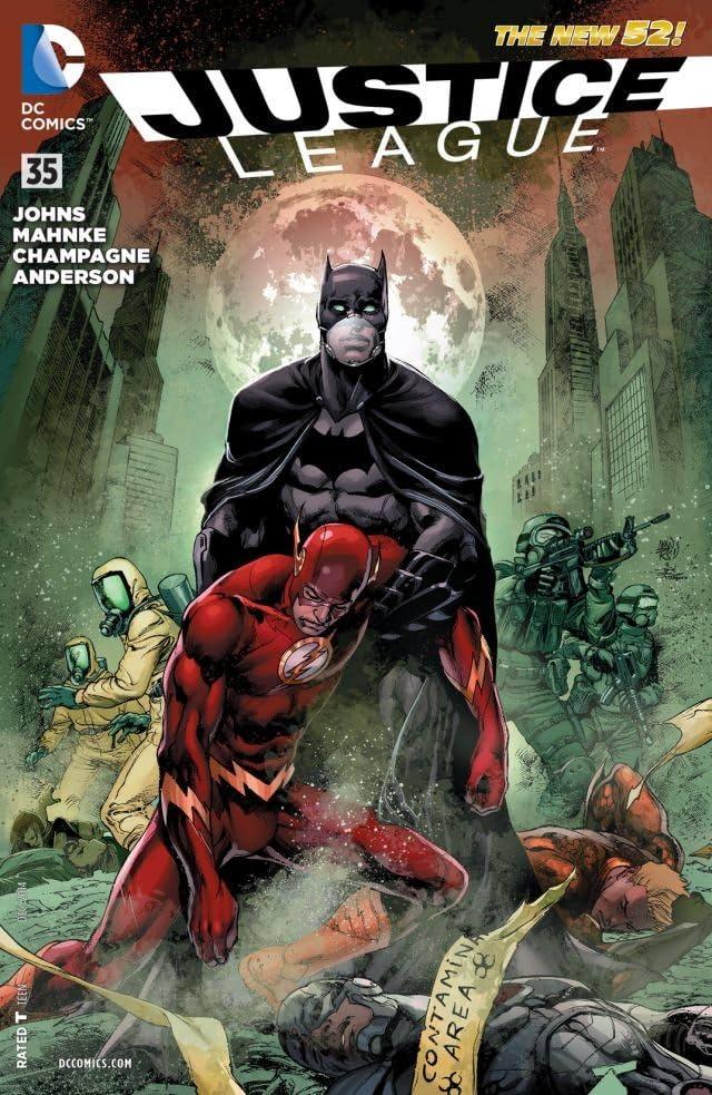 Justice League (2011-2016) #35