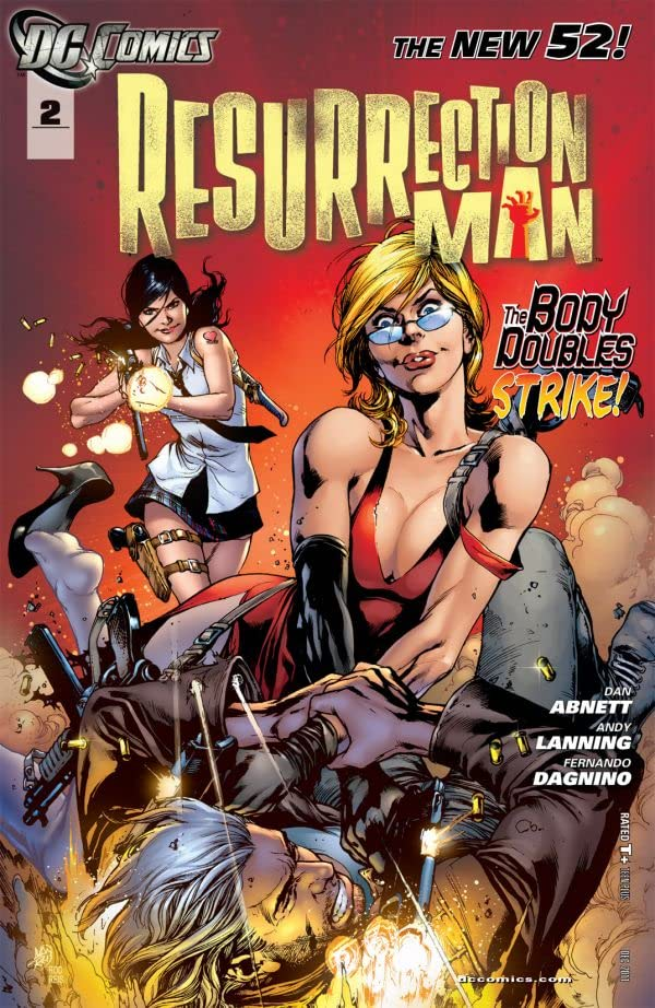 Resurrection Man (2011-2012) #2