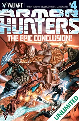 Armor Hunters #4 (of 4): Digital Exclusives Edition