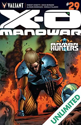 X-O Manowar (2012- ) #29: Digital Exclusives Edition
