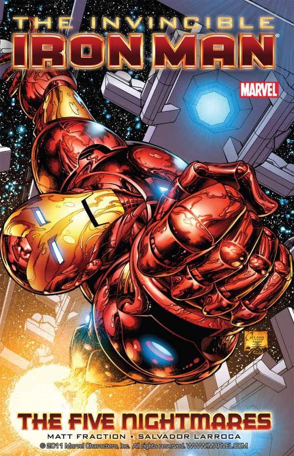 Invincible Iron Man Tome 1: The Five Nightmares
